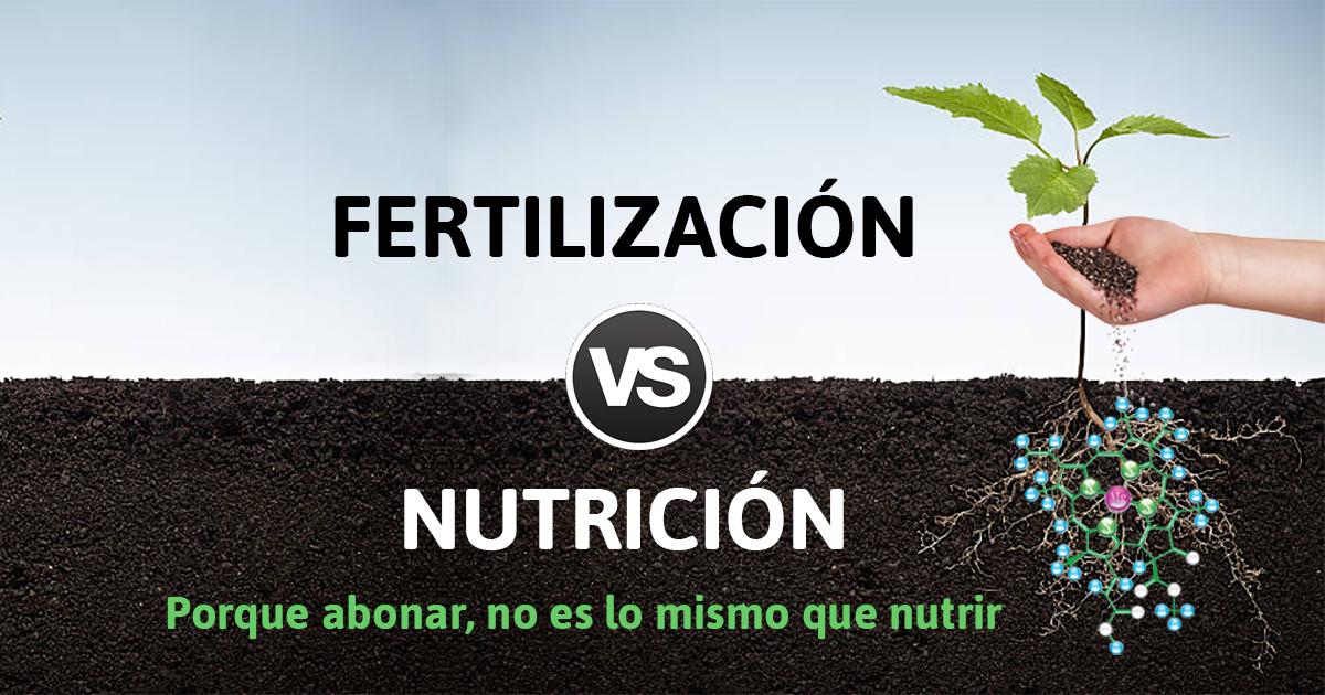 nutrición y fertilización
